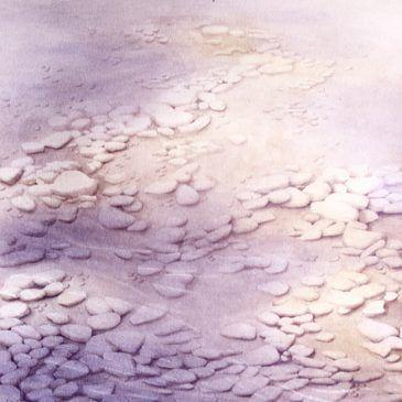 Twilight Stones1 watercolour 22x30
