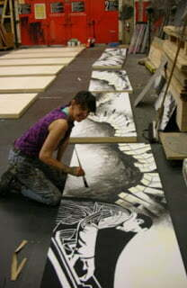 """click here to read """"An Interview With a Scenic Artist"""""""